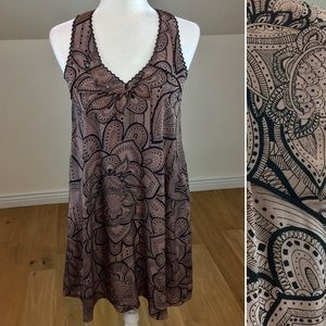 Anthropologie Vanessa Virginia 100% Silk Dress